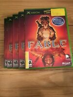 FABLE - XBOX - COMPLETE WITH MANUAL - FREE S/H - (DD)