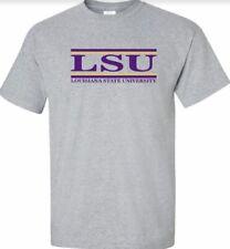 LSU University Bar Tee Shirt   Size:  Large