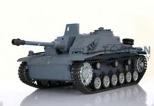 US Stock HengLong 1/16 German Stug III RTR RC Tank Metal Tracks Wheels 3868