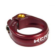 gobike88 KCNC SC-9 Seatpost Clamp, Ti Bolt, 31.8mm, 14g, Red, E39