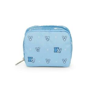 LeSportsac BTS Collection Square Cosmetic in BT21 KOYA NWT