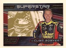 CLINT BOWYER 2016 PANINI TORQUE NASCAR RACING SUPERSTAR VISION /149