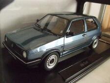 VW GOLF 2 II CL 1990 blau metallic von NOREV 1:18 NEU & OVP