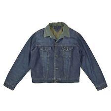 TOMMY HILFIGER Herren Jeansjacke L 52 Übergangsjacke gefüttert Jacket blau w.NEU