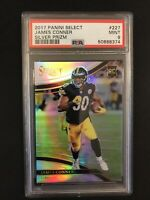 2017 Panini Select Jame Conner Field Level Silver Rookie PSA 9 Steelers RC QTY