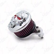 custom Skull Air Cleaner Intake Filter Kit For Harley Sportster XL883 XL1200 CD