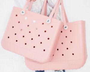 NWT Blushing Pink Baby Bogg Bag Medium Beach Pool Sports Tote Diaper Bag NEW