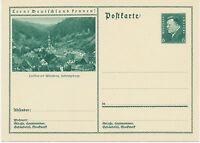 DT.REICH Friedrich Ebert 6 Pf 1932 Kab.-Bildpost-GA WIRSBERG, Fichtelgebirge