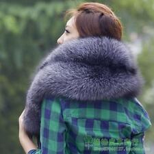 Women's Fashion Real WHOLE Fox Fur Scarf Shawls Cape Wrap  Vest Scarves winter