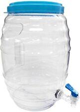 Mexican Style 3-Gallon Vitrolero Aguas Frescas Tapadera Plastic Water Container