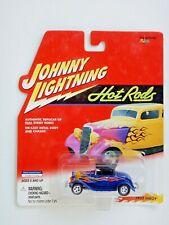 Johnny Lightning 1932 Hiboy (Blue) Car (Hot Rods)(2000)