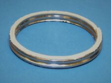 ALLOY EXHAUST GASKET SEAL YAMAHA YZF R125 WR 125 YP 125 VP 125 X MAX & CITY A42