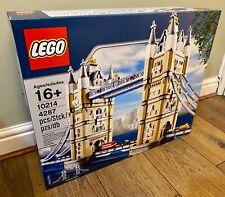 LEGO CREATOR EXPERT 10214 Tower Bridge - BRAND NEW SEALED - UK FREE COURIER