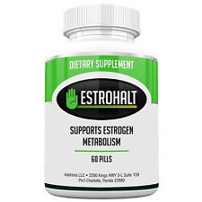 Estrohalt- Best Estrogen Blocker Pills with DIM (Diindolylmethane) and Indole-3