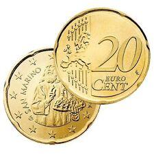 Ek // 20 Cent Saint Marin # Pièce Nueve : Sélectionnez une Année :