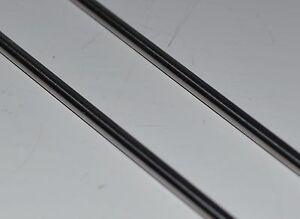 Stainless Steel Round Bar Rod x2 3mm 1/8 dia x 304mm  316 Marine Grade 1.4401 a4