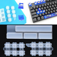 DIY Silicone Keycaps Resin Mold for Mechanical Keyboard Crystal Epoxy Molds Q8