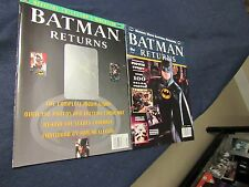 1992 BATMAN RETURNS COLLECTOR MAGAZINES & TRADING CARDS