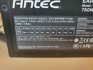 Antec Earthwatts 750W EA-750 Green PC Switching Power Supply