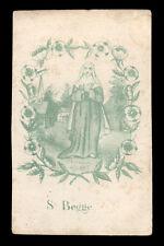santino incisione 1800 S.BEGGA DI ANDENNE