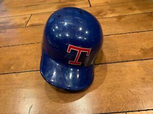 1990's TEXAS RANGERS GAME USED BATTING HELMET Lefty size 7 3/8 LOA
