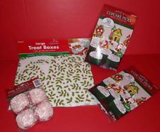 Christmas Baking 60 Festive Cupcake Picks 200 Petit 4 liners 5 Large Treat Boxes