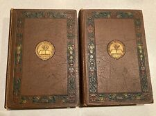 New listing 1921 Antique Revised Encyclopedia of Freemasonry -Volumes I & Ii - Color Plates