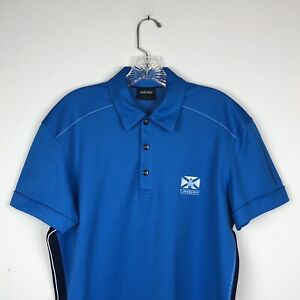 Turnberry Golf Course Scotland Galvin Green Men's S/S Polo Polyester Blend Large