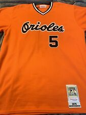 cc1c713cd Brooks Robinson Baltimore Orioles 1975 Mitchell and Ness Jersey size 56