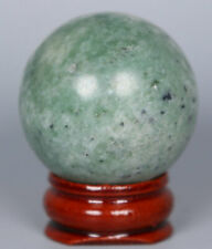 Natural Polished LuShan green Crystal Ball Stone Specimen Healing - Madagascar