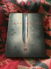 BraveHeart steelbook used,. please see photos Bluray rare edition
