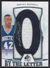 2013-14 SP AUTHENTIC BY THE LETTER DONYELL MARSHALL AUTO PATCH 55/75 UCONN