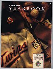 1991 Minnesota Twins Baseball Mlb Yearbook