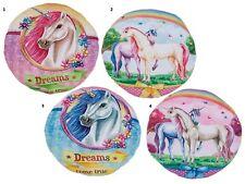 Einhorn No.2/4 Regenbogen mit blau Deko-Kissen Träume Fantasy unicorn rainbow