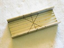 """X-ACTO MITER BOX ALUMINUM FOR ALL METAL AND WOOD CUTTING AND SAWING 5 1/2 X 2 """""""
