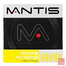 MANTIS tri-spin poliestere 17/1.25 MM NERO