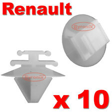 RENAULT MEGANE TWINGO DOOR TRIM STRIP CLIPS SIDE MOULDING RUBSTRIP PLASTIC