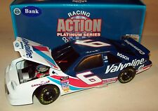 Mark Martin 1996 Valvoline #6 Roush Ford Thunderbird Bank 1/24 Vintage NASCAR