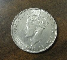 1938 Cyprus 18 Piastres Silver Coin Km #26