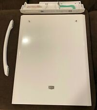 Replacement Door, Control Panel, and Handle (White) for Maytag Dishwasher