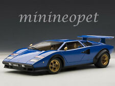 AUTOart 74652 LAMBORGHINI COUNTACH WALTER WOLF EDITION 1/18 MODEL BLUE