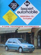 Revue technique NISSAN MICRA 93 EXPERT RTA 314 1993