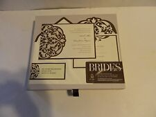 Brides Deluxe Invitation Kit Wedding Collection Do It Yourself Box of 30