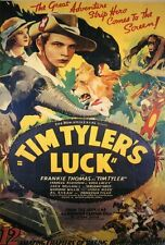 TIM TYLER'S LUCK Movie POSTER 27x40 B Frankie Thomas Frances Robinson Jack