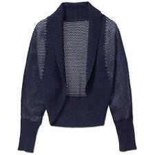 NEW Athleta Women's Dolman Shrug Sweater Dress Blue Size X-SMALL XS