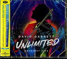 DAVID GARRETT-UNLIMITED - GREATEST HITS-JAPAN CD G35