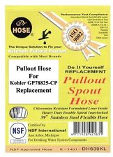 Pullout Hose for Kohler GP78825-CP Replacement by Dr Hose