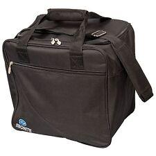 Ebonite Escort Single Bag Tote 1 Ball Bowling Bag Black