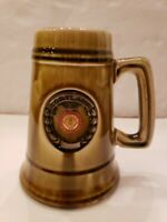 Vintage Beer Stein Ceramic Porcelain SUNY Cortland College Drinking Mug 1948