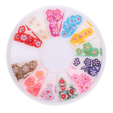 Mélange ongles strass fond plat multicolore manucure ongles Art 3D